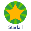 Starfall icon link